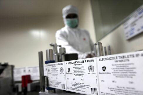 Glaxo Against Pfizer in India's $12 Billion Drug Market