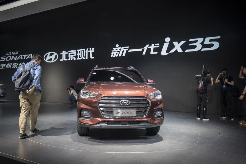 Hyundai Ix35 SUV. Photographer: Qilai Shen/Bloomberg