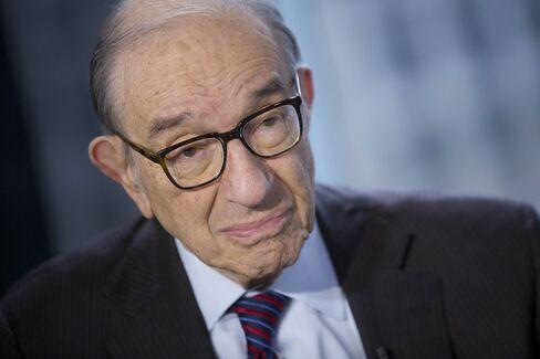 Former Federal Reserve Chairman Alan Greenspan