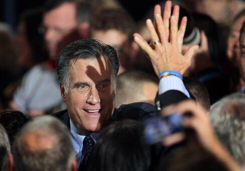 Republican Presidential Republican Candidate Mitt Romney