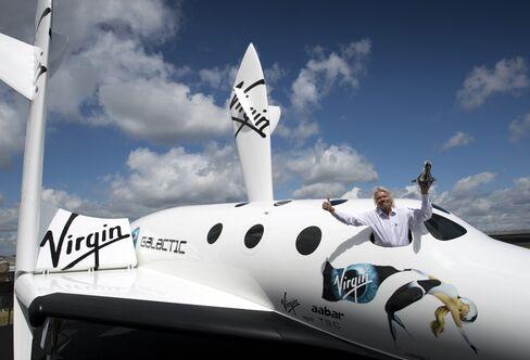 Virgin Galactic founder Richard Branson.