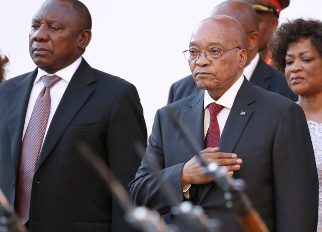 Ramaphosa Backed by South African Unions as Next ANC ...