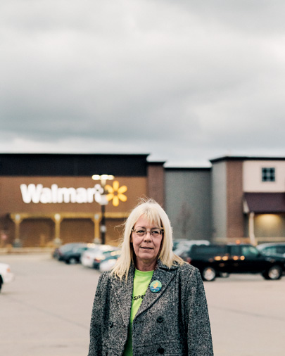 OUR Walmart member Mary Pat Tifft in Wisconsin