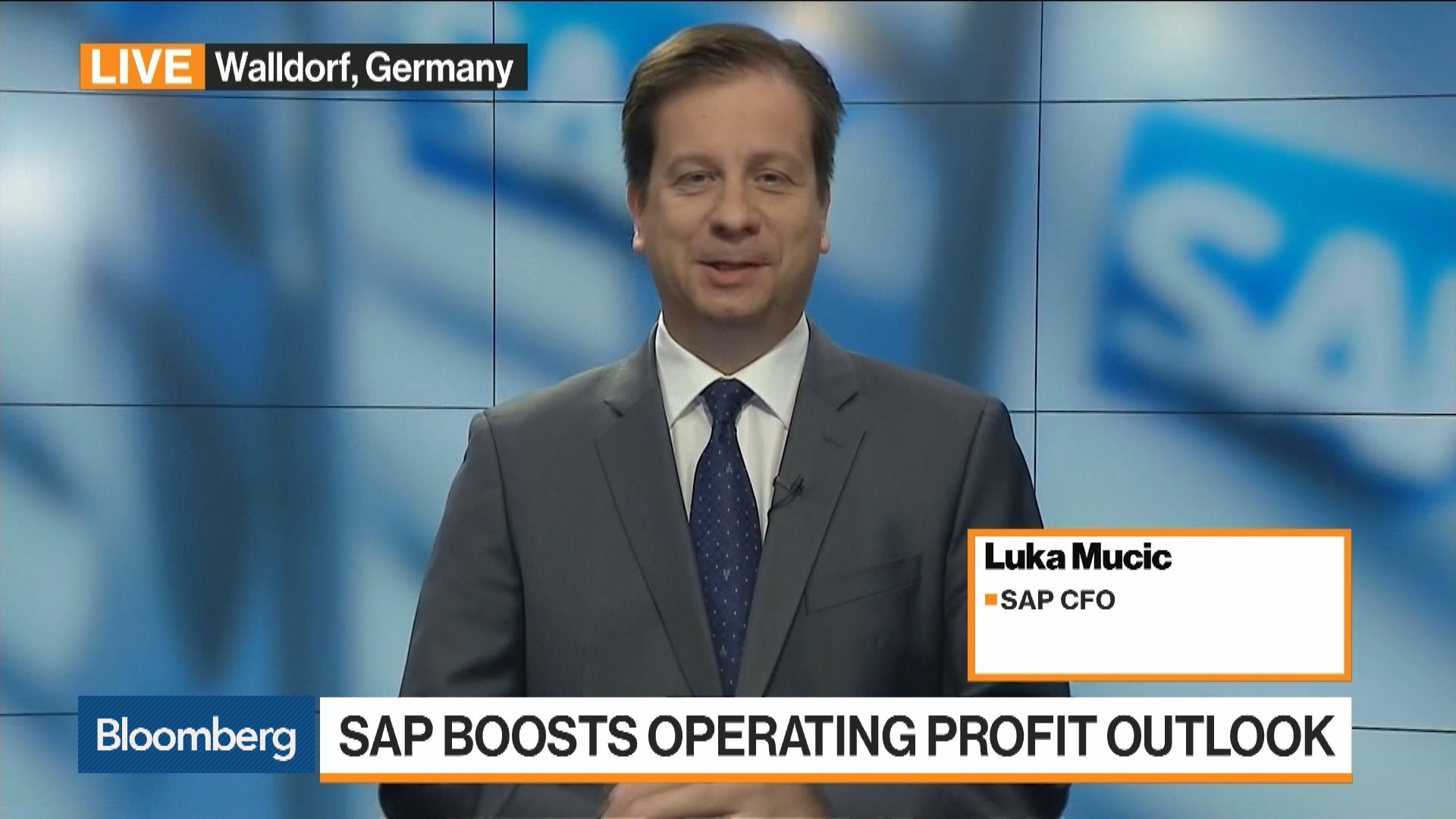 We Feel Extremely Strong About Where SAP Is Heading, Says CFO