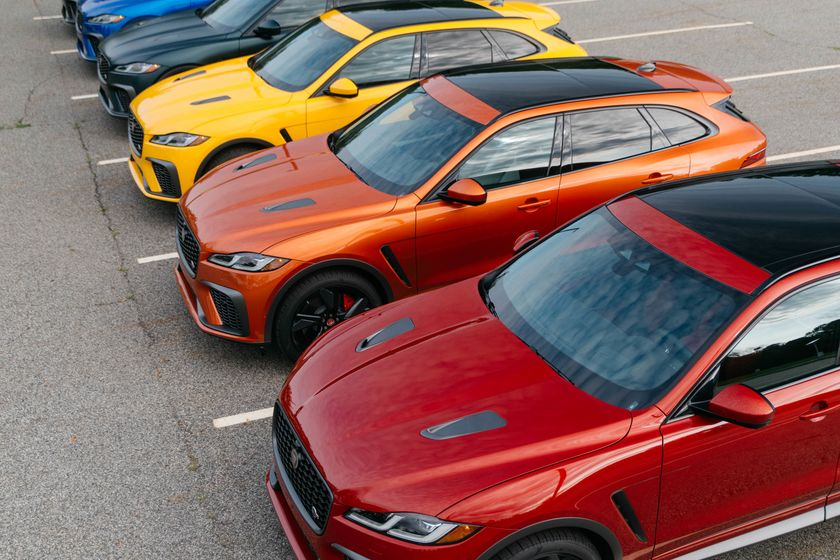 relates to The 2021 Jaguar F Pace SVR Is a $84,600 Ticket Out of SUV Monotony