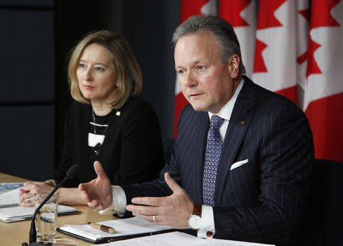 Carolyn Wilkins and Stephen Poloz.