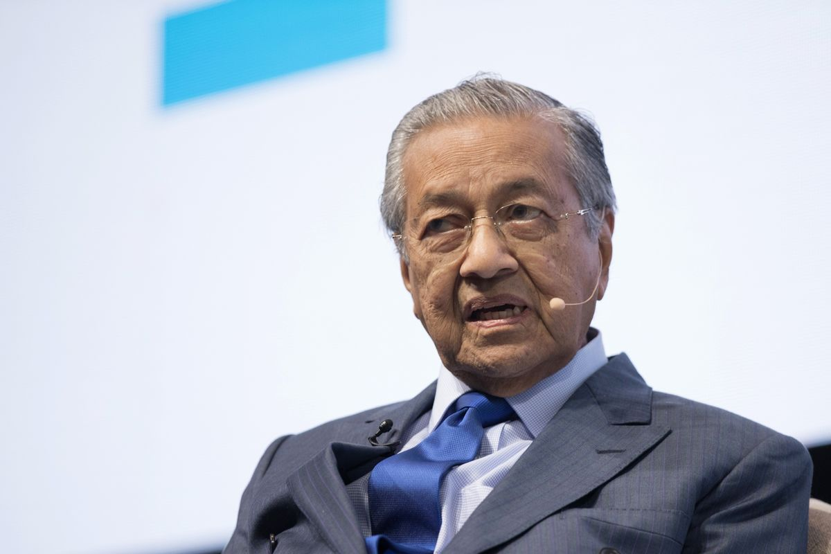 Malaysia's Opposition Pact Poses 'Credible Threat' to Mahathir