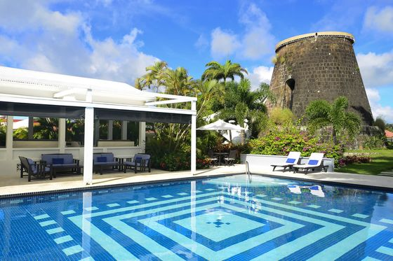 The Best Poolside Lunches in the Caribbean