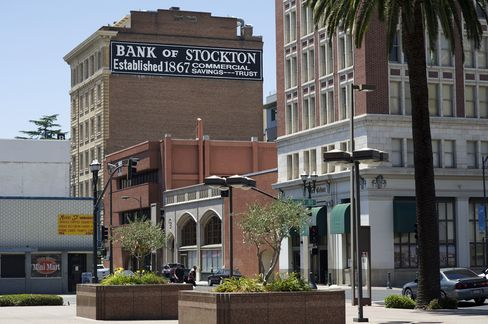 Stockton, California, Files for Bankruptcy Court Protection