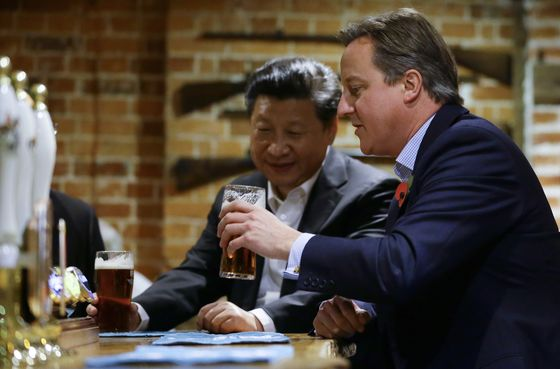 Behind U.K.'s Golden Era, China Giant Threatened Shock Waves