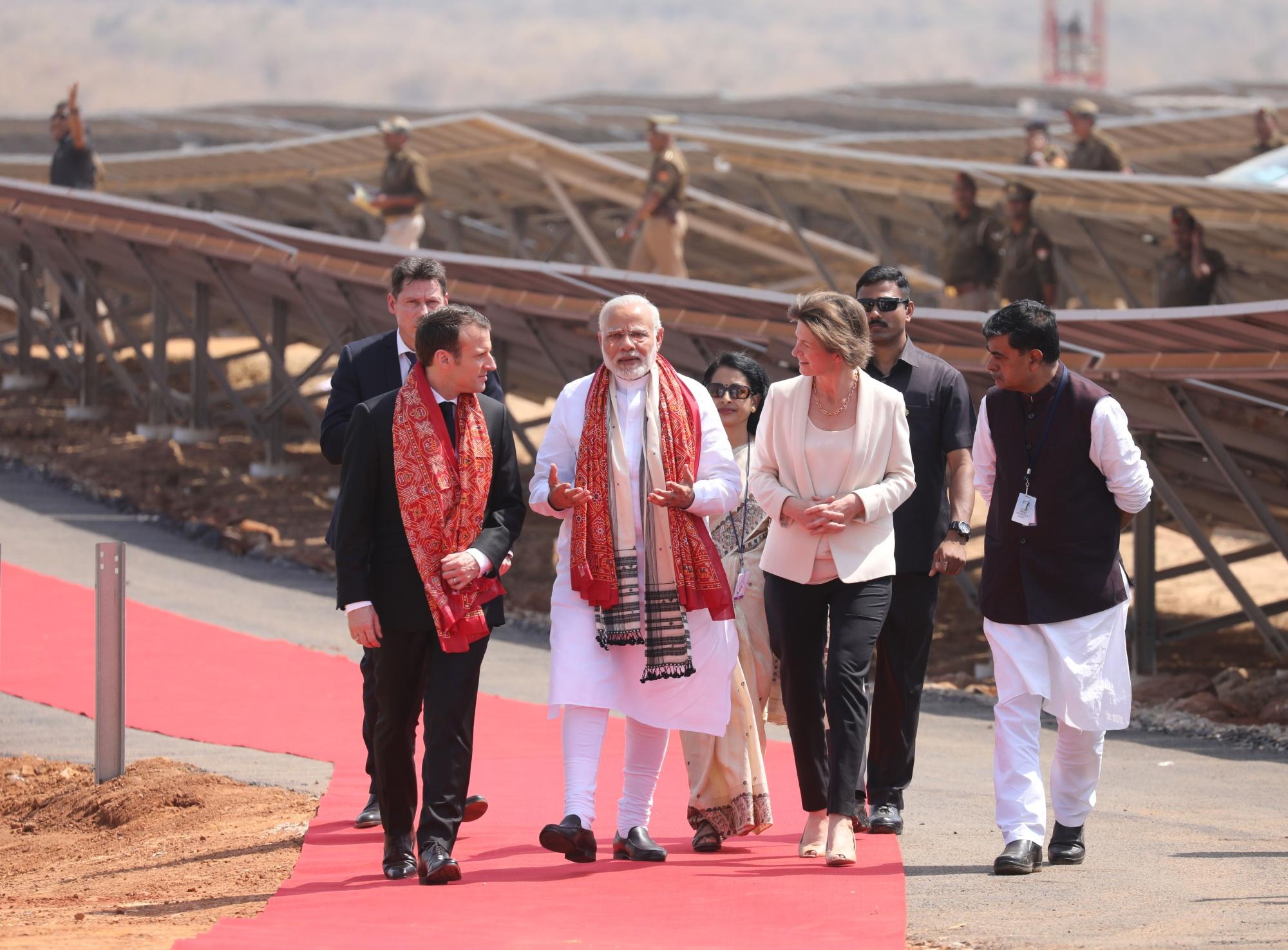 INDIA-FRANCE-CLIMATE-ENERGY