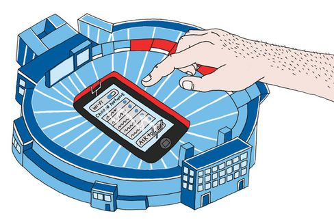 Wireless Stadiums: The Next Best Thing to Not Being There