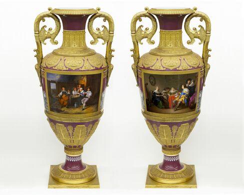 Buttram Russian Vases