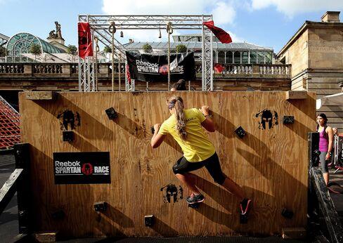 A Reebok Spartan Race in London.