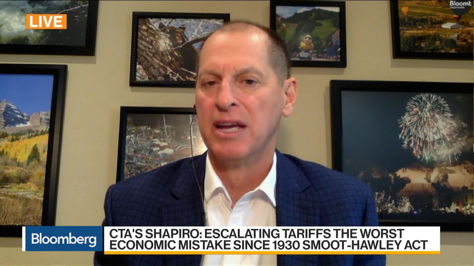 Gary Shapiro, CEO of Consumer Technology Association, on U.S.-China Trade War