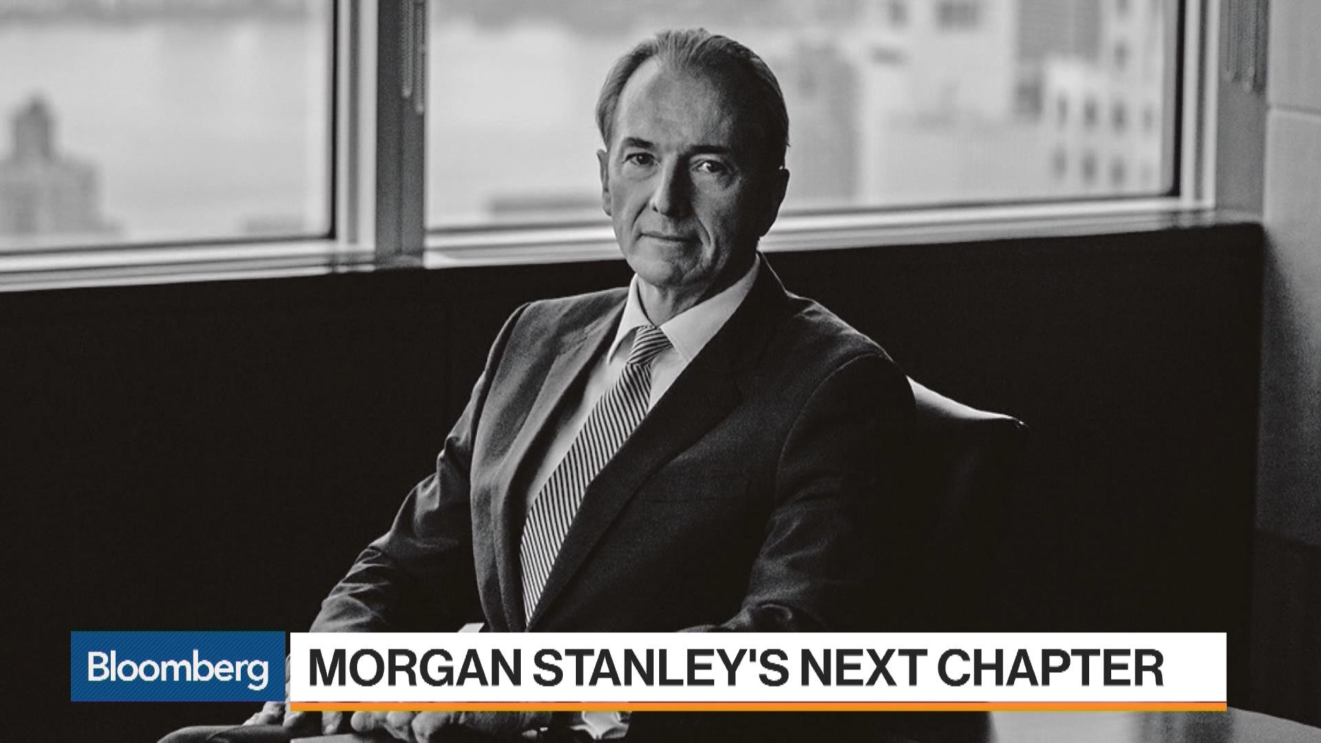 What James Gorman Had To Say About The Future Of Morgan Stanley Bloomberg