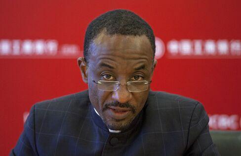 Nigerian Central Bank Governor Lamido Sanusi