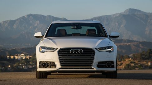 The Audi A6 TDI seats five, with a V6 diesel engine, an eight-speed transmission, and all-wheel drive.