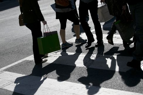 Sales at U.S. Retailers Advance by Most in Five Months