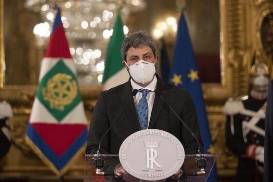 Italy President Taps House Speaker to Mend Coalition Rift