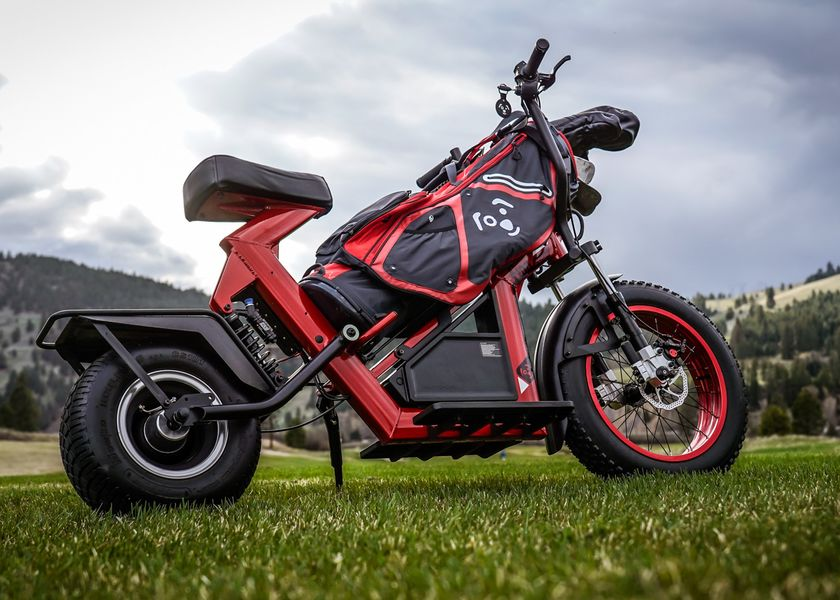 relates to Golf's Slow Pace Challenged by an Electric Bike That Caddies, Too