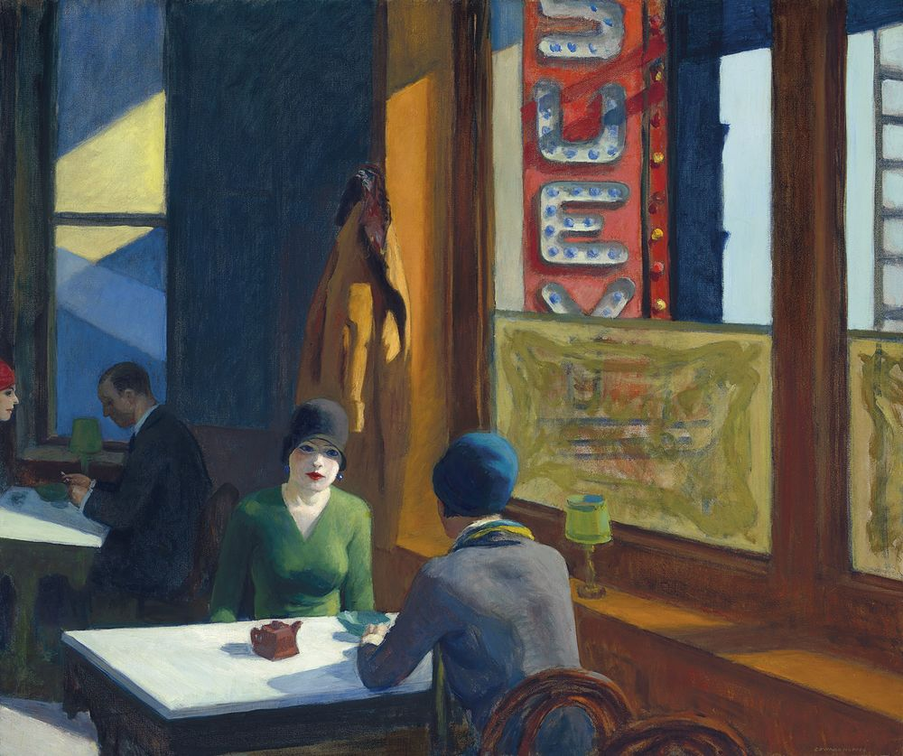 Hopper's 'Chop Suey' Sets Artist Auction Record at $91.9 Million