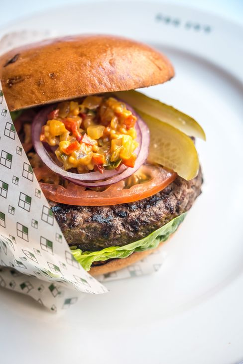 The food is unfussy, and the Ivy hamburger has been one of the most popular options over the year.