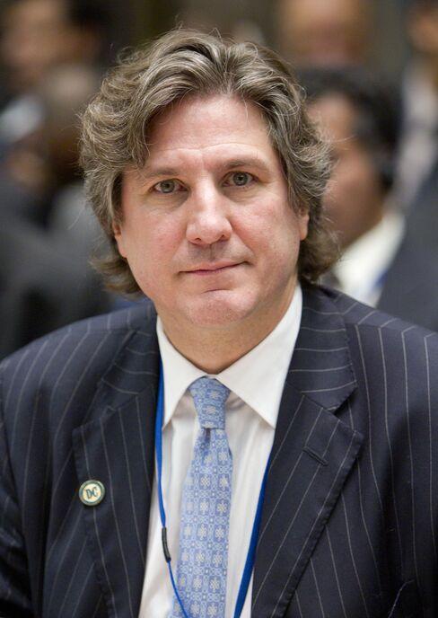Argentine Economy Minister Amado Boudou