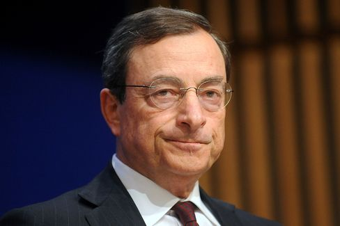 Financial Stability Board Chairman Mario Draghi