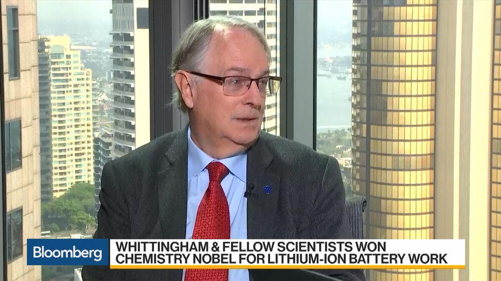 Nobel Laureate Whittingham on Lithium-Ion Battery