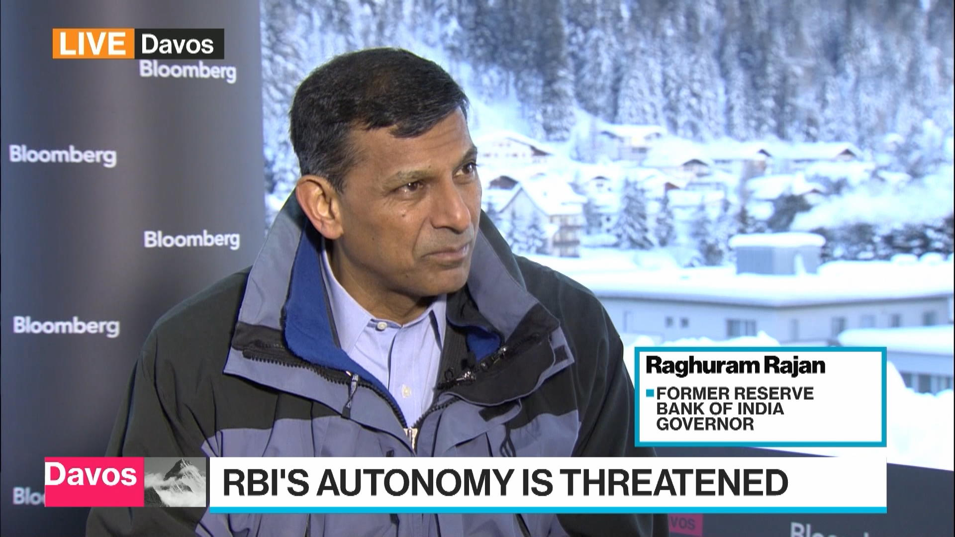 Ex-RBI Governor Rajan Says U.S-China Dispute Far Bigger Than Trade