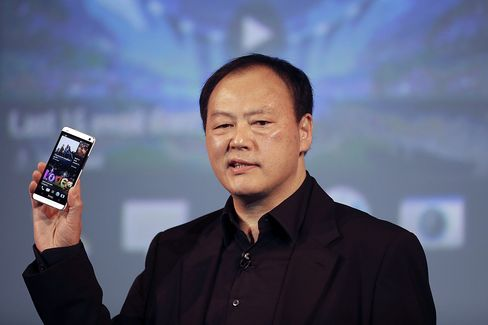 HTC Chief Chou's Last Chance at Turnaround Rides on One Handset