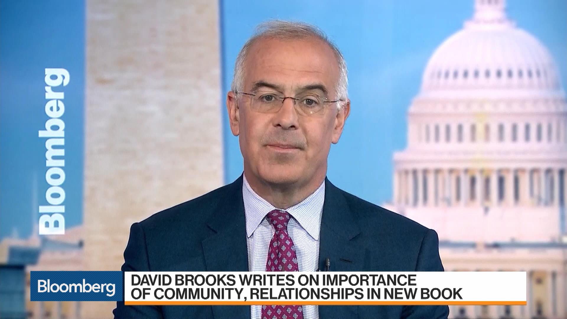Democrats Shouldn't Impeach Trump, Author David Brooks Says
