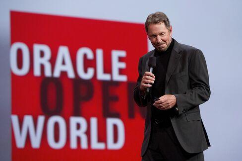 Oracle Corp. CEO Larry Ellison