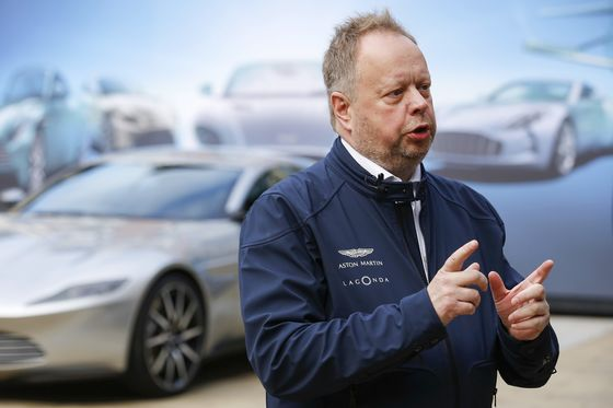 Aston Martin Fails to Dazzle After CEO's Whirlwind Pre-IPO Hype