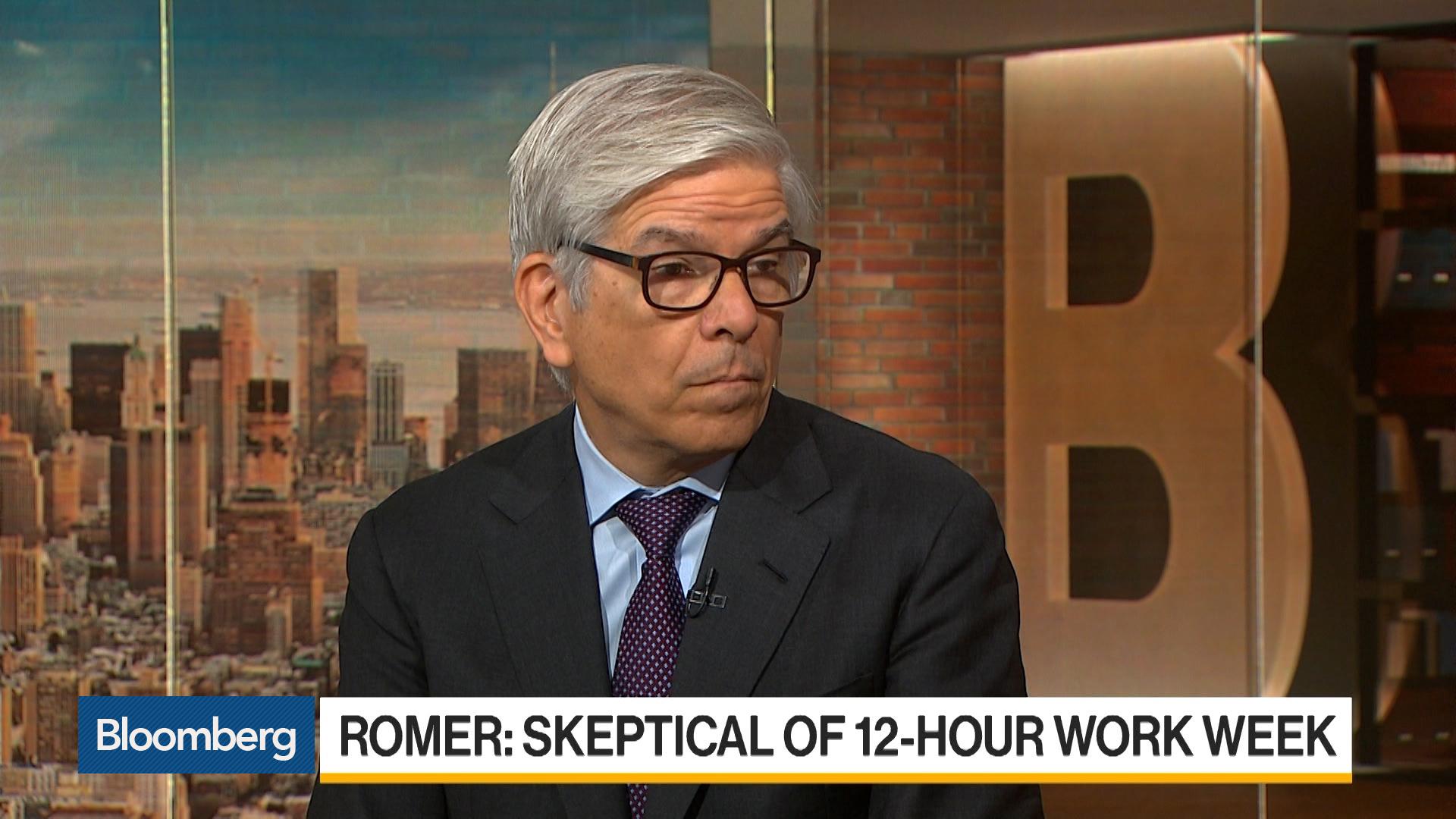 Why Nobel Laureate Paul Romer Is Skeptical of 12-Hour Work Week