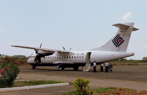 A Trigana Air Service Aircraft