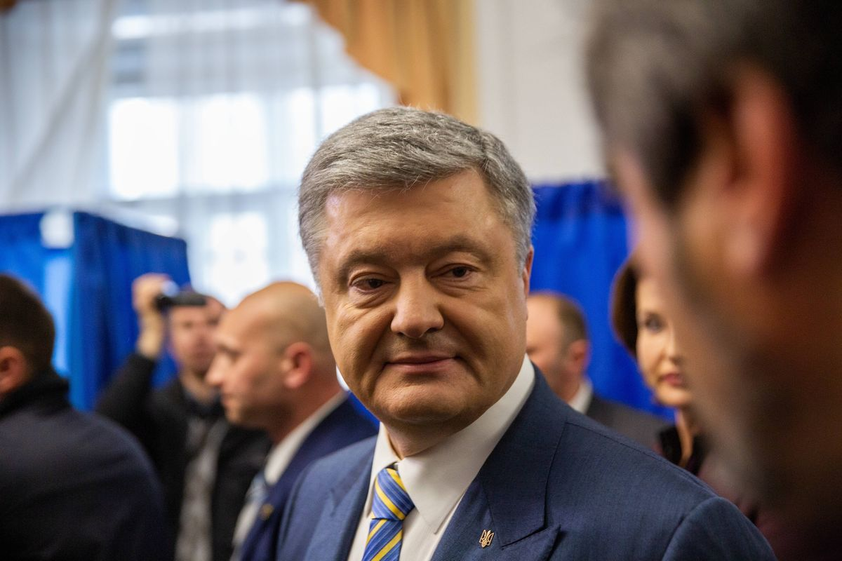 Ukraine's Ex-President Says Biden Never Asked to Close Cases