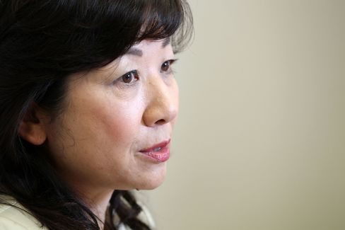 Seiko Noda, a lawmaker from the Liberal Democratic Party (LDP).