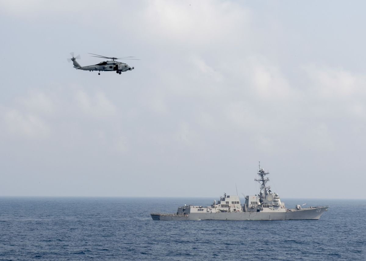 U.S. Navy Asserts Freedom of Navigation in South China Sea