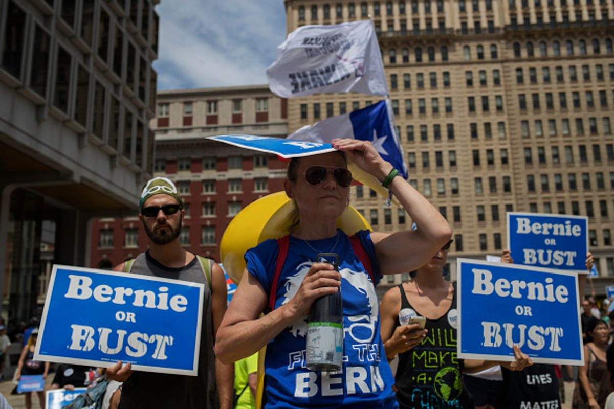 Why Sanders Supporters Are So Tenacious