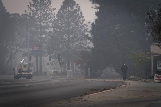 California's Air Monitor Finds Toxic Lead in Wildfire Smoke