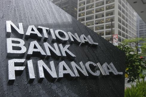 The logo for National Bank Financial