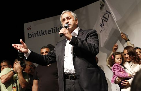 Turkish Republic of Northern Cyprus President Mustafa Akinci