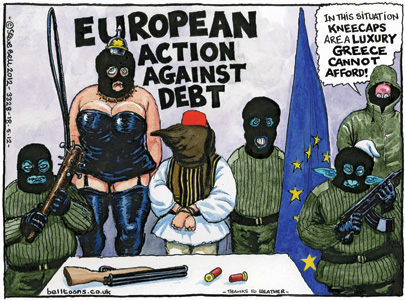 The View From Britain: 'The Guardian' (May 18, 2012) By Steve Bell
