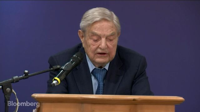 Soros at Davos: Accuses Trump of 'Setting Course to Nuclear War'
