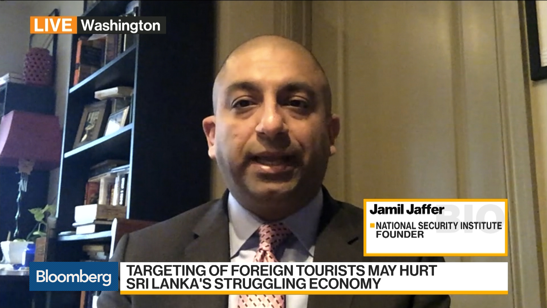 Sri Lanka Bombings Were 'Highly Sophisticated' Attack, Jaffer Says