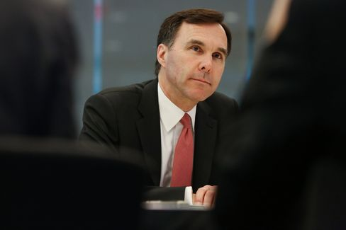 Canada Finance Minister Bill Morneau Interview