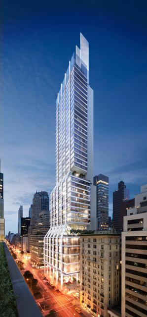 425 Park Ave. will rise amid Manhattan's busiest stretch of skyscraper construction since the 1980s, with millions of square feet of offices in such projects as Hudson Yards on the far west side and the World Trade Center downtown. Source: L&L Holding Company/Foster + Partners