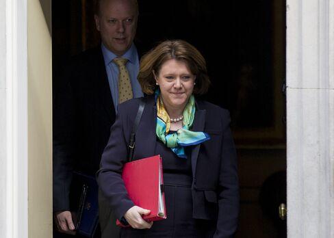 U.K. Culture Secretary Maria Miller